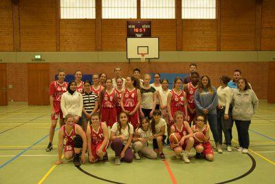 Tuspo Borken Begegnung Noailles Basketball